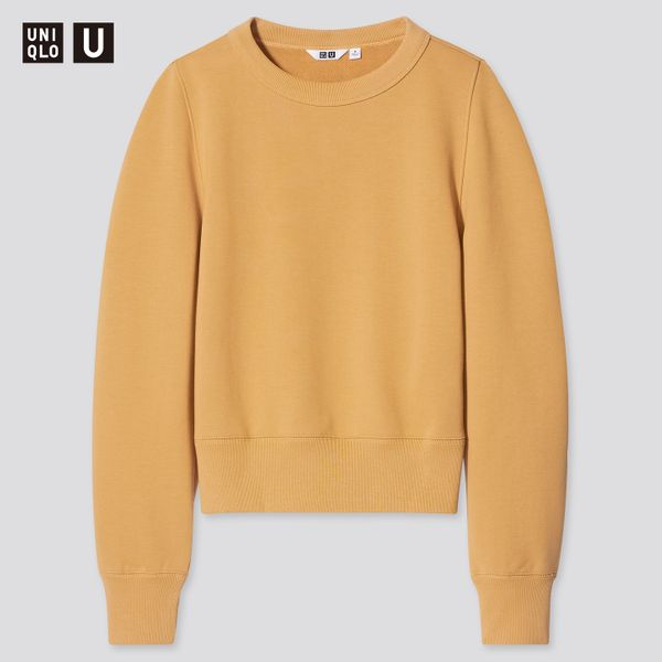 Uniqlo Women U Crew-Neck Long-Sleeved Sweatshirt