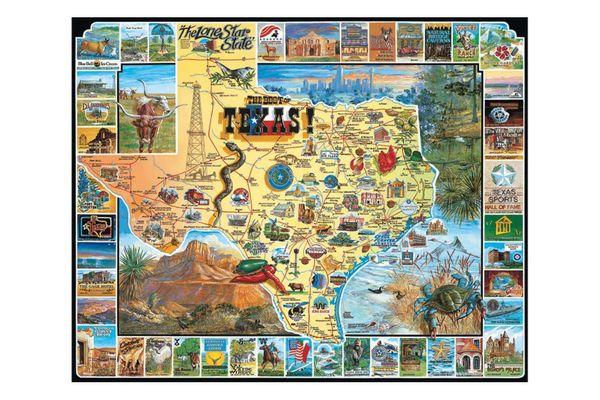 White Mountain Puzzles Best of Texas
