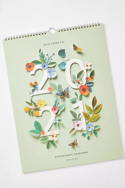 Rifle Paper Co. Floral 2021 Appointment Calendar
