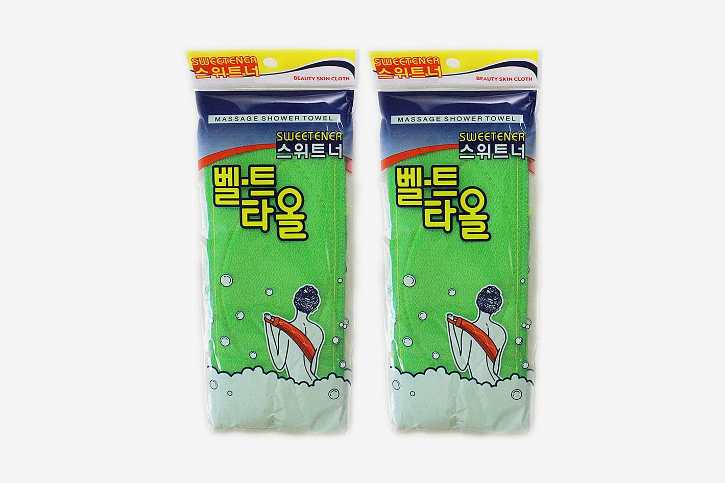 Deakyung Korean Exfoliating Towel, 2 pieces