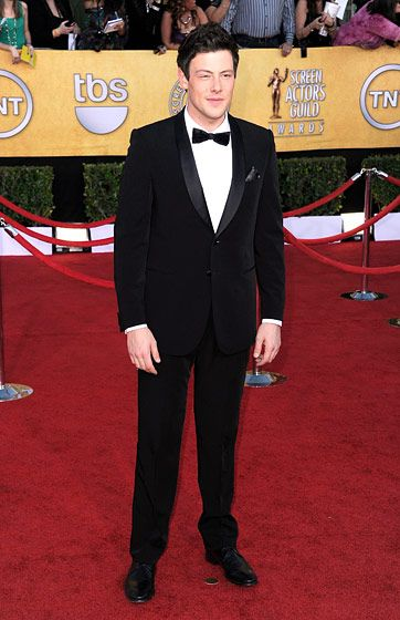 LOS ANGELES, CA - JANUARY 29:  Actor Cory Monteith arrives at the 18th Annual Screen Actors Guild Awards at The Shrine Auditorium on January 29, 2012 in Los Angeles, California.  (Photo by Frazer Harrison/Getty Images)