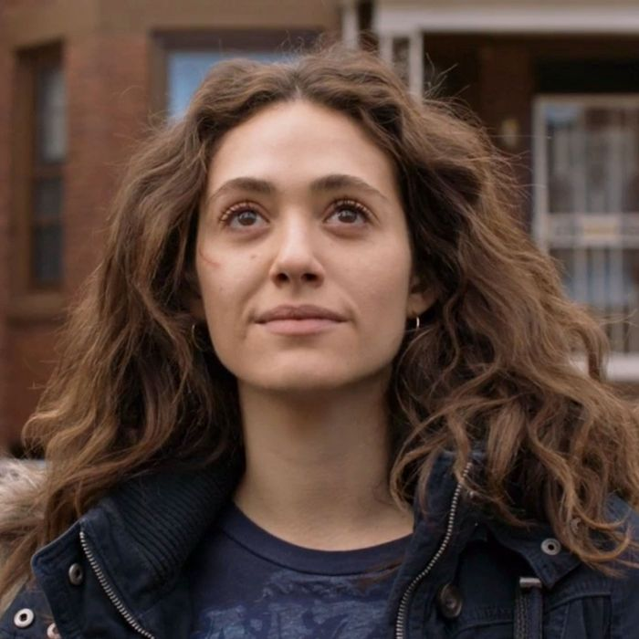 Emmy Rossum as Fiona Gallagher in Shameless.
