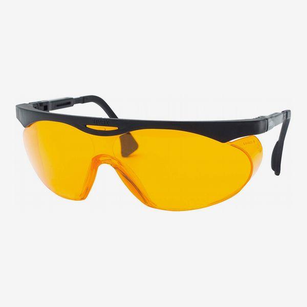 Uvex Skyper Blue Light Blocking Computer Glasses with SCT-Orange Lens