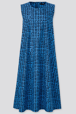Uniqlo Cotton A-Line Sleeveless Dress (Marimekko)