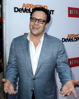 LOS ANGELES, CA - APRIL 29: Creator/producer Mitch Hurwitz arrives at the premiere of Netflix's