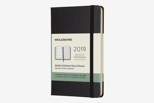 Moleskine Classic Hard Cover 2019 12 Month Weekly Planner