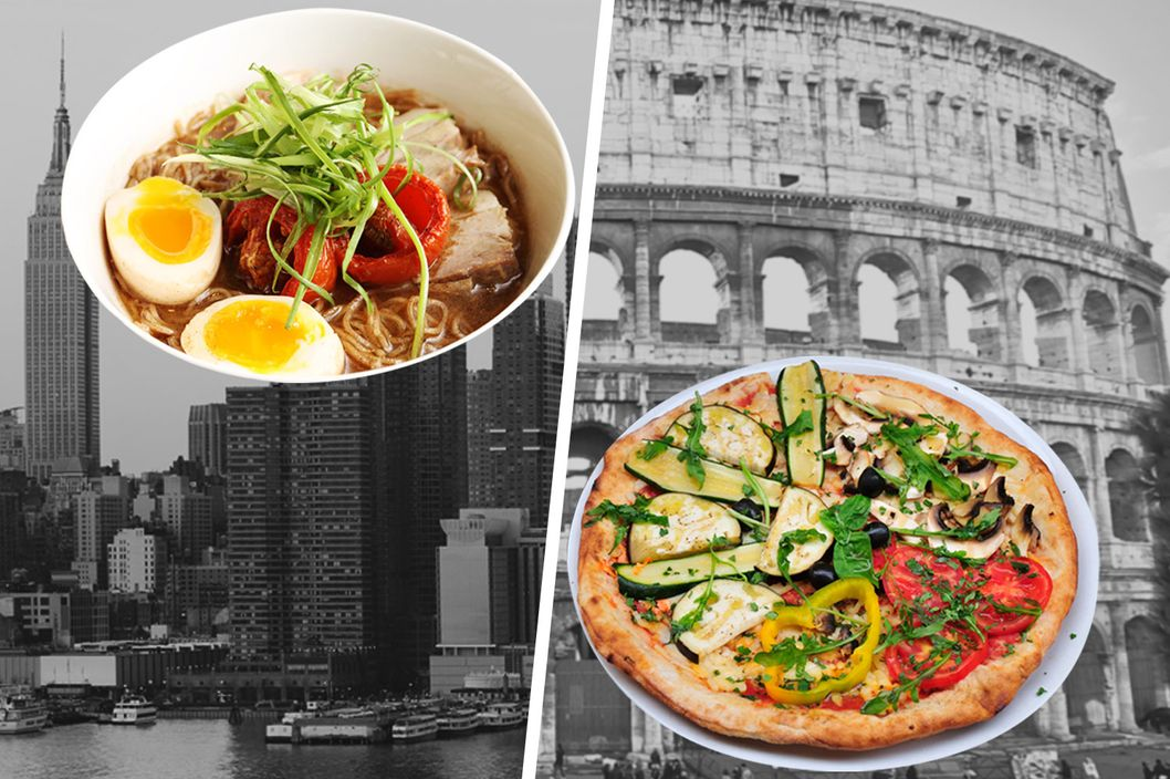 Is new york tastier than rome the cut - Food design roma ...