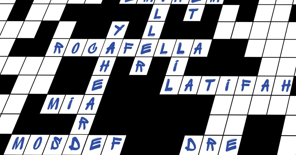 A Brief History Of Rap In The New York Times Crossword Puzzle