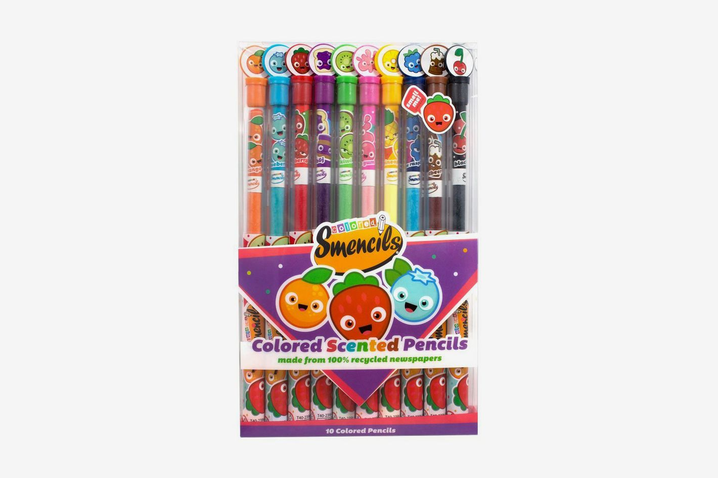 Scentco Colored Smencils 10-Pack of Scented Coloring Pencils