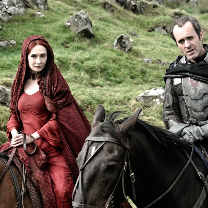 Episode 14 (season 2, episode 4): Carice van Houten, Stephen Dillane.