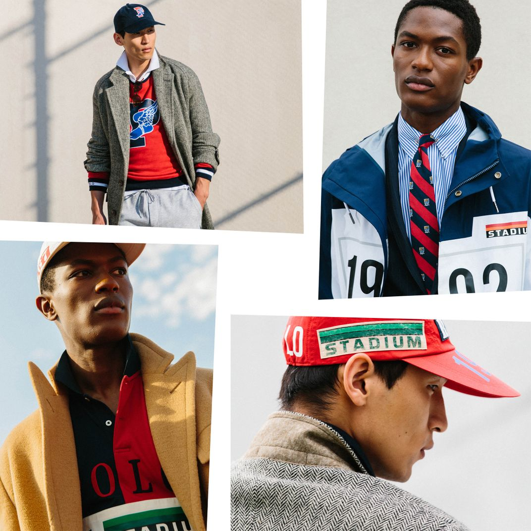 Polo Ralph Lauren Is Re Issuing Its 90s Polo Stadium Line