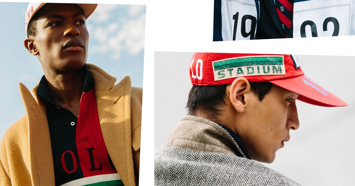 Polo Ralph Lauren Is Re Issuing Its  90s Polo Stadium Line 2010239259a
