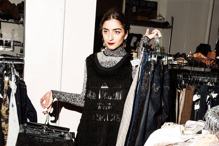 Nina Chitadze, 26. Buyer at Beacon's Closet Manhattan.