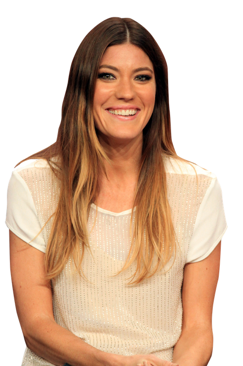 "Actress Jennifer Carpenter speaks at the ""Dexter"" discussion panel during the Showtime portion of the 2012 Summer Television Critics Association tour at the Beverly Hilton Hotel on July 30, 2012 in Los Angeles, California."