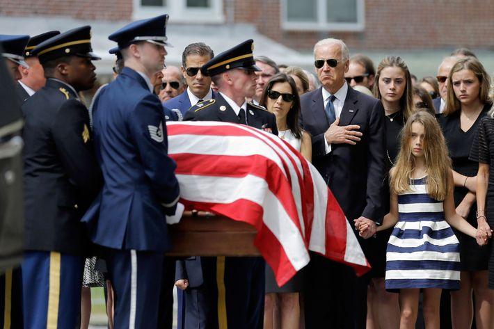 Beau Biden, Joe Biden, Hallie Biden, Natalie Biden