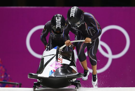 American Track Star Turned Bobsledder Leading -- NYMag