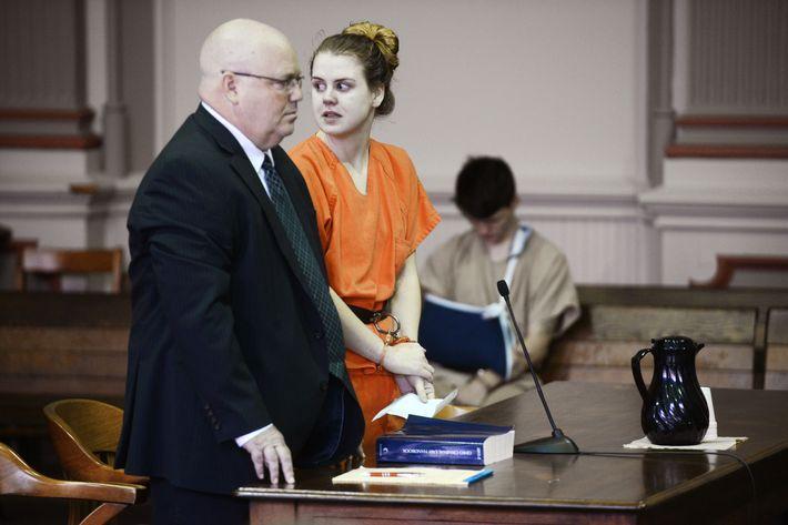 Emile Weaver suffocated her newborn in a trash bag.