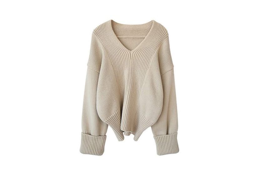 Genuine People Oversized Crop Sweater
