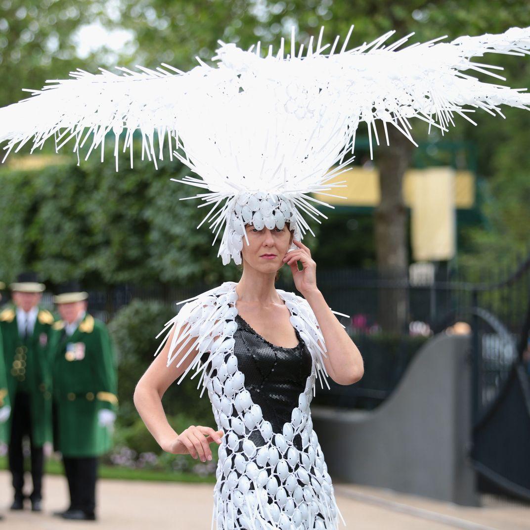The Craziest Fascinators at Royal Ascot 63b9e112133