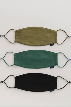 Baggu Fabric Mask Set with Ear Loops