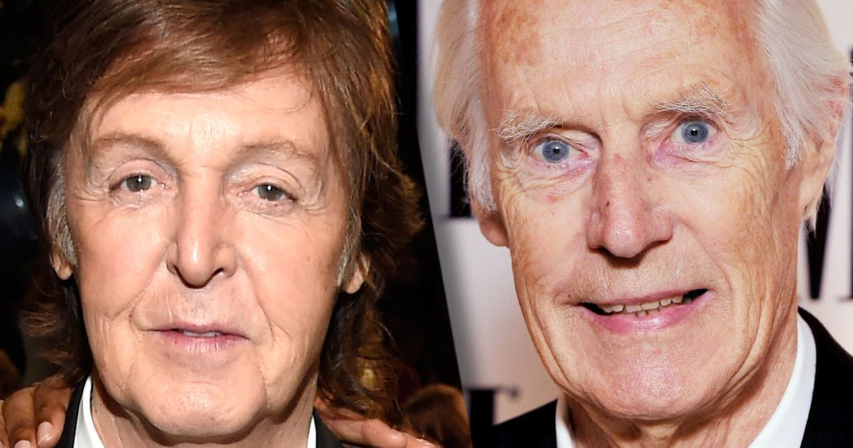 George Martin Paul Mccartney Pays Tribute To