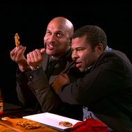 Watch Key and Peele Go Crazy Eating Hot Wings