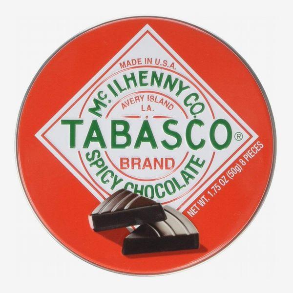 Tabasco Tin Spicy Dark Chocolate Wedges (Pack of 2)