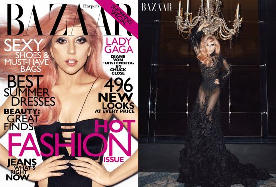 Harper's Bazaar Forces Lady Gaga to Explain Her Facial Prosthetics