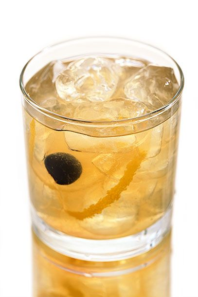 "<b>Crawford's Sour</b>  <i><a href=""http://www.crawfordssf.com/"">Crawford's</a>, Sioux Falls</i>  There aren't a lot of bartenders that would abide the use of peach vodka, but it does lend a subtle note to this straightforward sour: In a lowball glass, combine 3/4 ounces lemon juice and 1/2 ounce simple syrup. Fill glass with ice and top with 1 ounce each peach vodka (Crawford's uses Absolut) and Disaronno. Stir gently and garnish with a lemon twist and a brandied cherry."