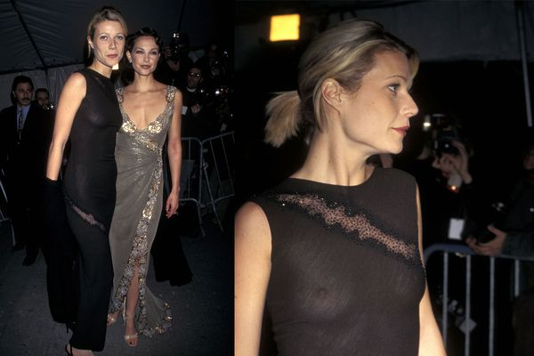 History of Gwyneth Paltrow's Side-Butt and See-Through Clothing