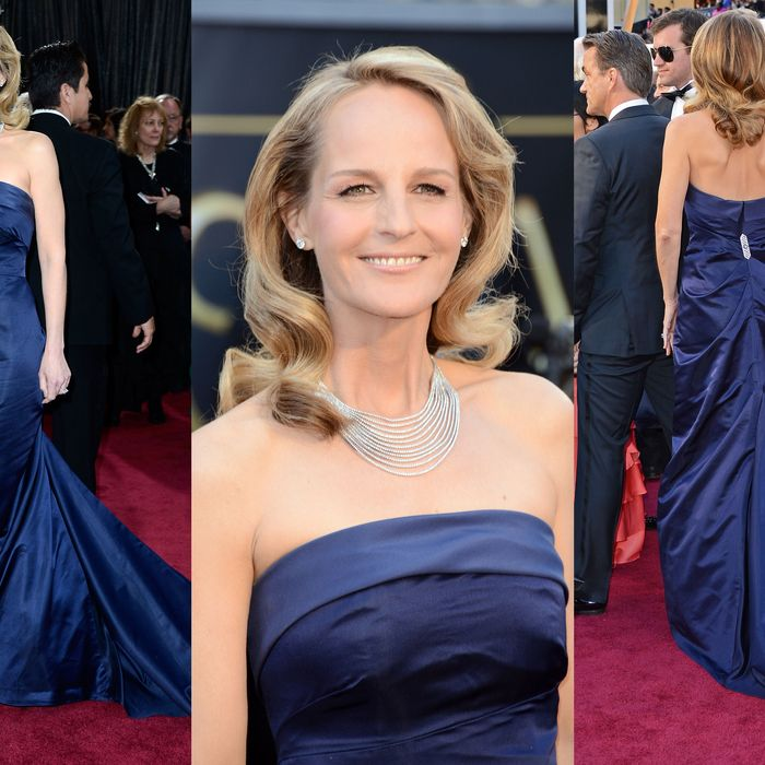 Helen Hunt's H&M dress.