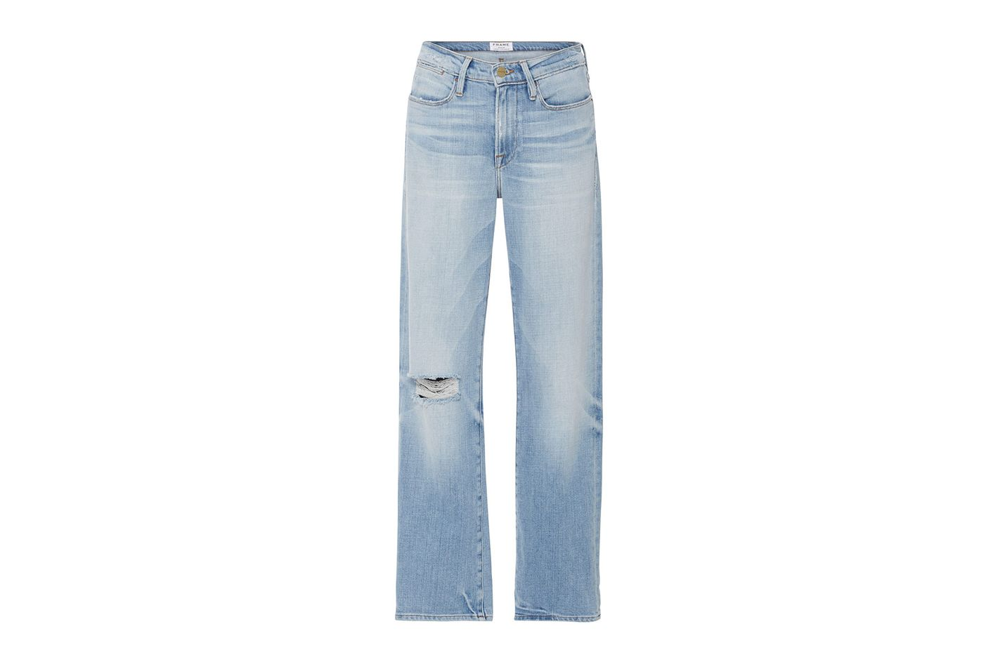 Frame Denim Le High '70s Straight Fit High Rise Jeans