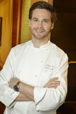 Marcus Jernmark was named executive chef at Aquavit in 2010.