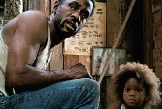 Mr. Henry, left, in Beasts of the Southern Wild.