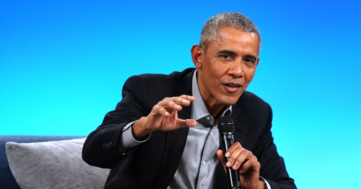 Obama Tells His Party's Elites to Relax
