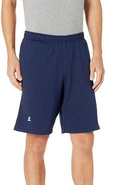 Russell Athletic Men's Basic Cotton Jersey Short with Pockets