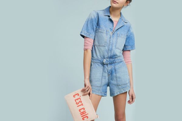 DL1961 Hannah Denim Romper