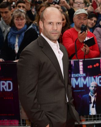LONDON, ENGLAND - JUNE 17: Jason Statham attends the UK premiere of 'Hummingbird' at The Odeon West End on June 17, 2013 in London, England. (Photo by Dave J Hogan/Getty Images)