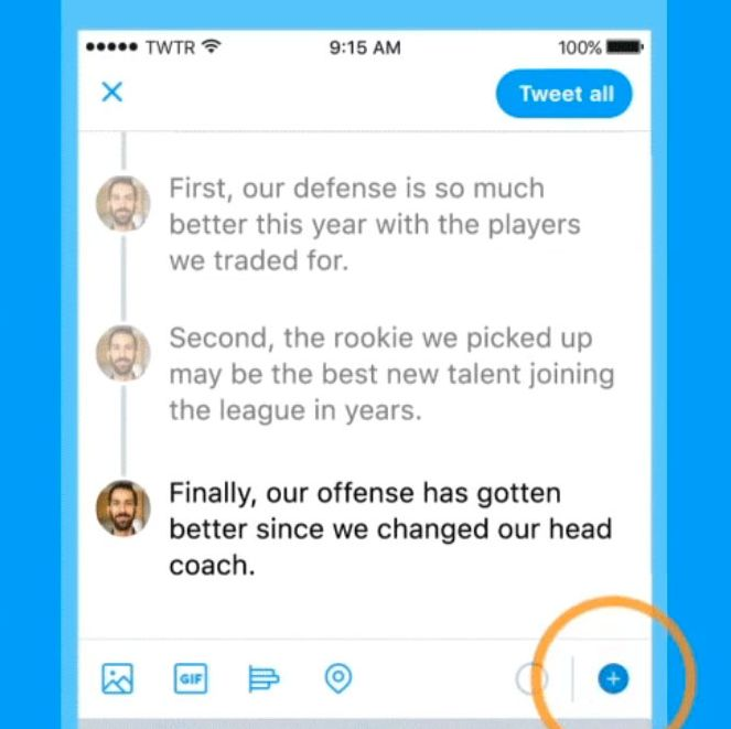 babf2ad20 Twitter Introduces New Tweet-Thread Feature