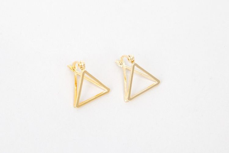A/OK Earring Gold OS