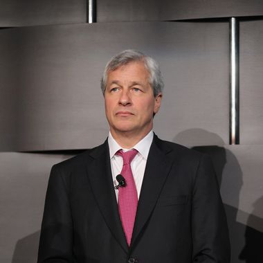 NEW YORK, NY - MAY 03:   JPMorgan Chase & Co. chairman and CEO Jamie Dimon waits before speaking at Simon Graduate School of Business at the University of Rochester's New York City Conference on May 3, 2012 in New York City. Dimon spoke about the state of the economy and regulations in the banking industry.  (Photo by Mario Tama/Getty Images)