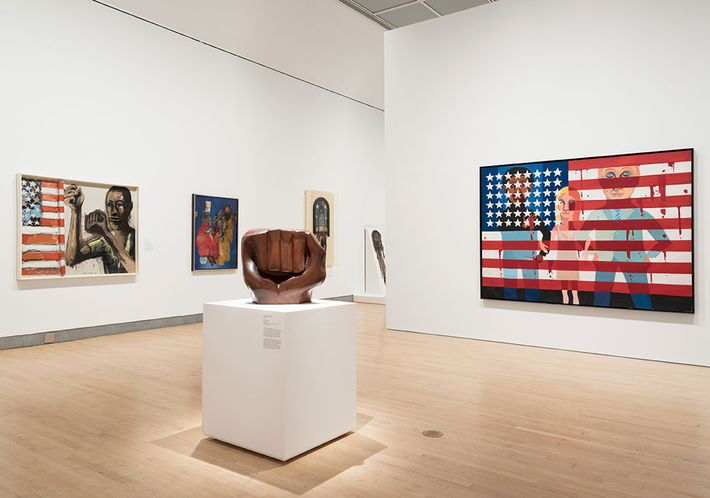 Soul of a Nation: Art in the Age of Black Power, September 14, 2018 through February 3, 2019. Installation View