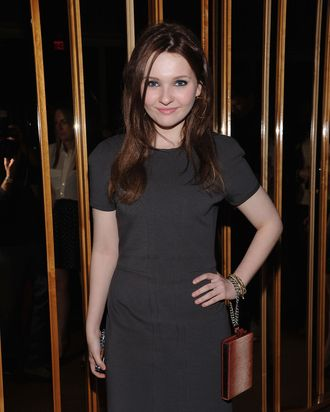 NEW YORK, NY - MARCH 20: Abigail Breslin attends the party following a screening of