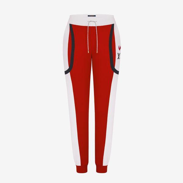 Louis Vuitton Old-School Color-Block Jogging Pants