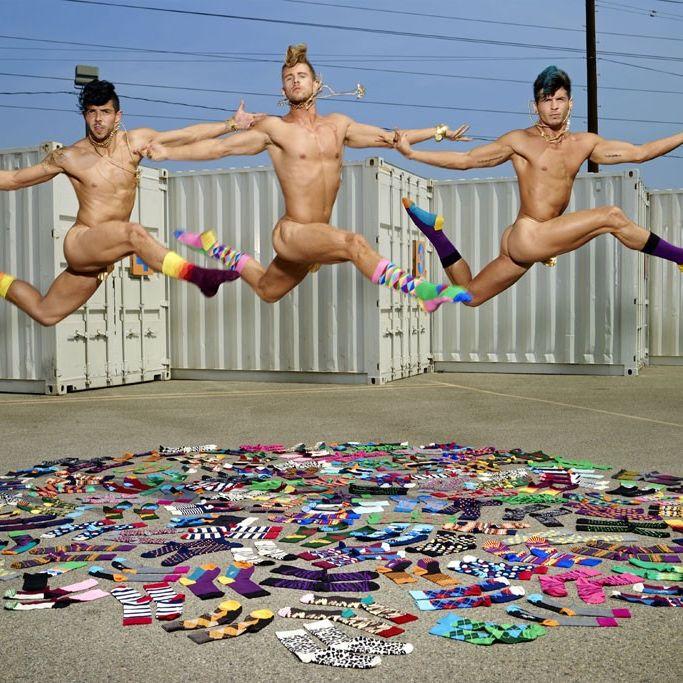 David LaChapelle for Happy Socks.