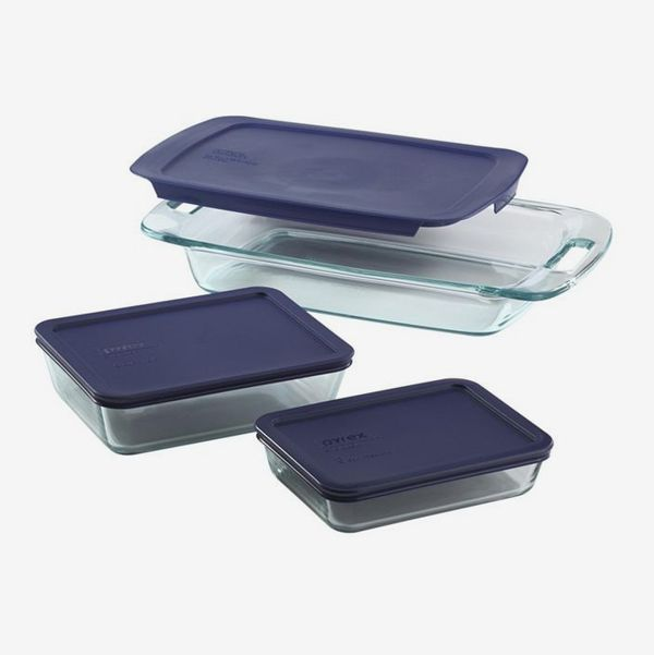 Pyrex Easy Grab 6-Pc. Bake and Store Set