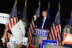 Donald Trump Holds Campaign Rally In Manchester, NH