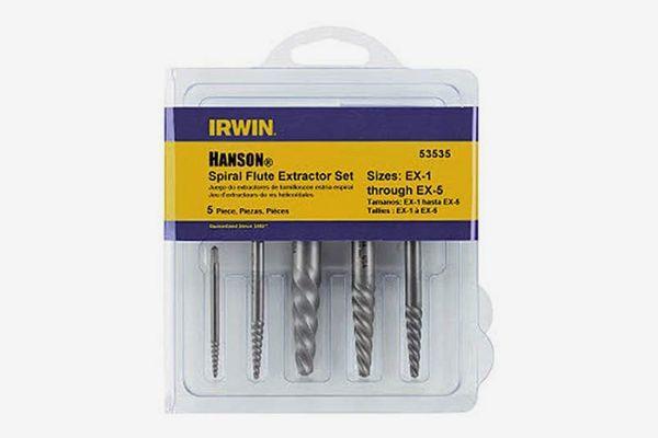 Irwin Industrial Tools Spiral Screw Extractor Set