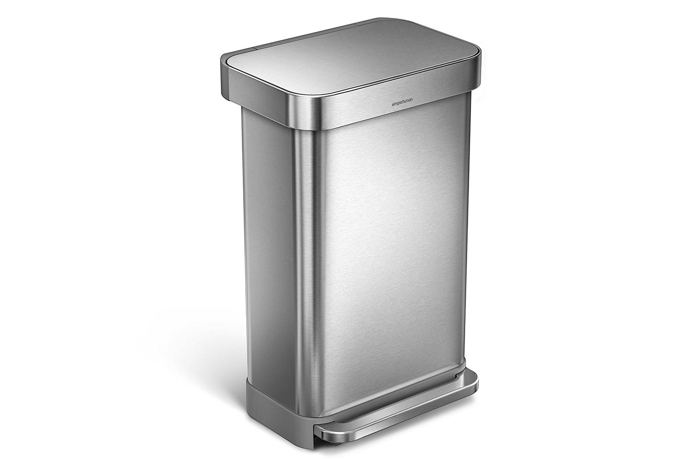 simplehuman 45L Rectangular Step Trash Can