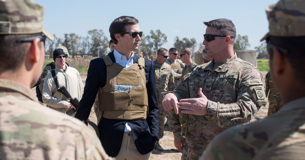 New Book Details Jared Kushner's Alleged Middle East Peace Plan, Which Is Preposterous